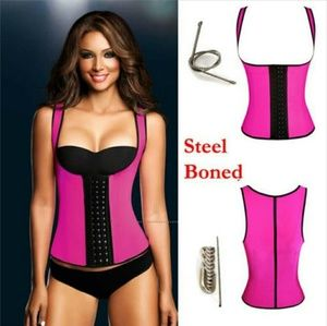 Vest Corset Latex Waist Trainer 100% latex